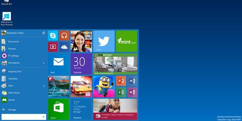 Nền tảng windows 10