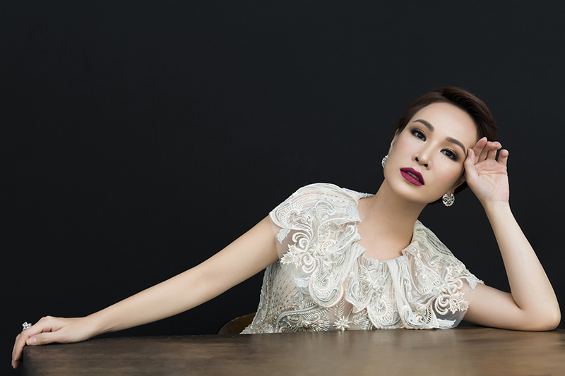 Nữ ca sĩ 'Tôi thấy may mắn vì độc thân'