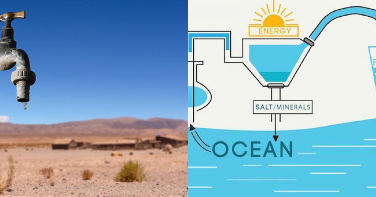 Công nghệ vật liệu mới cải thiện cơn khát nước của nhân loại