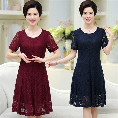 Đầm ren diện tết