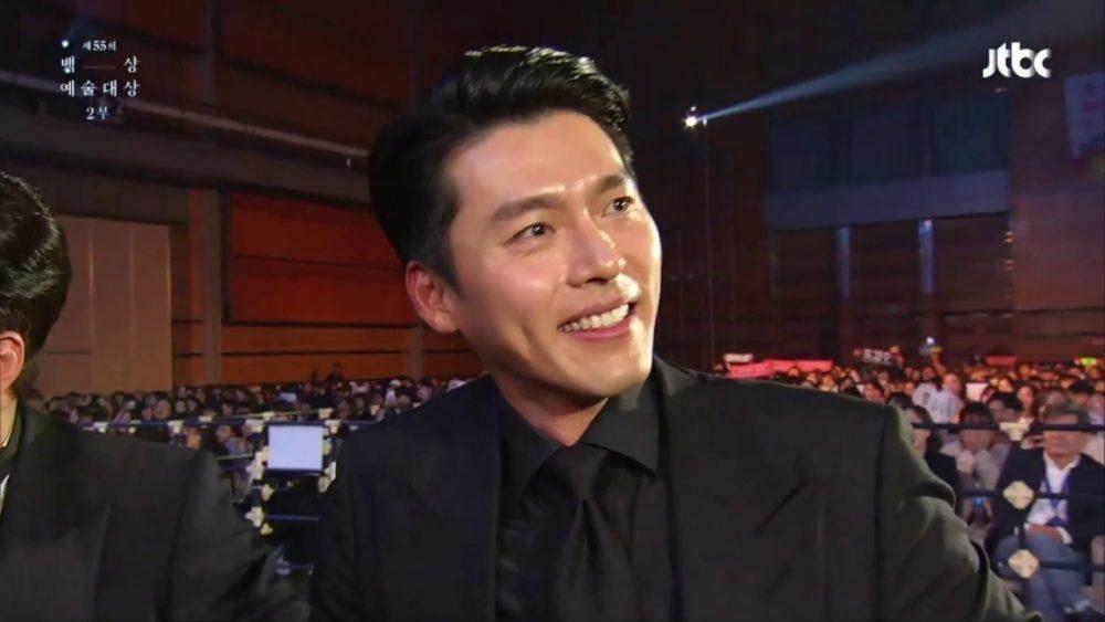 Hyun Bin trong lễ trao giải