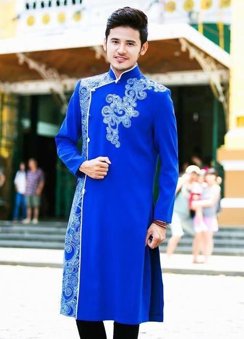 áo dài cách tân cho nam