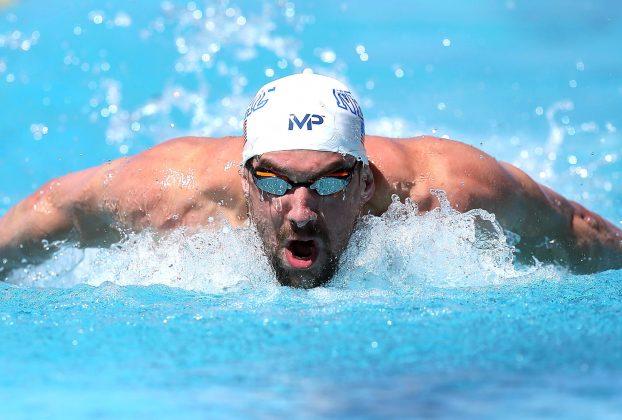 Michael Phelps, 33 tuổi