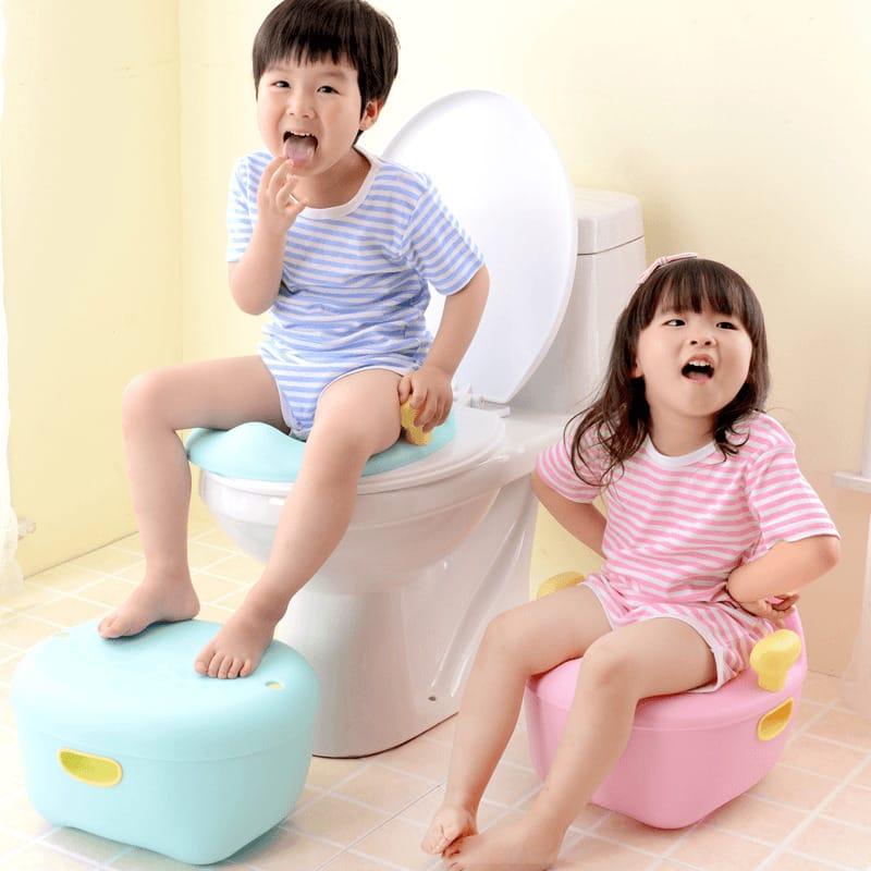 Cho trẻ tự đi vệ sinh