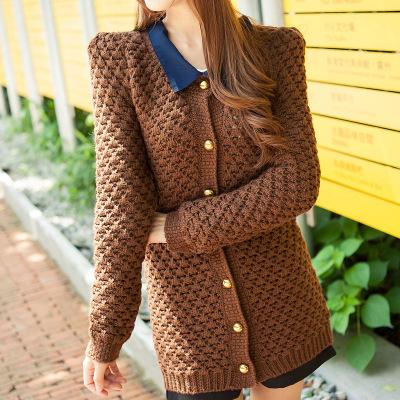 Áo len đan dây bolero